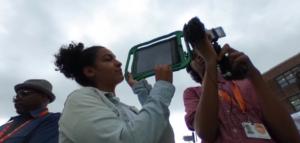 Brooklyn Youth working in Digital Storytelling